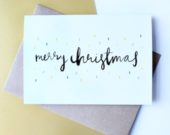 Merry Christmas // Greeting Card