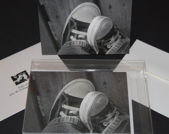 Blank photo note cards (box of 10)
