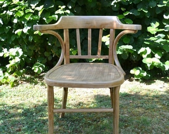 Old Office Chair, Thonet style armchair