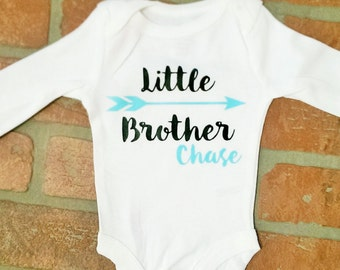 Personalized Little Brother Onesie