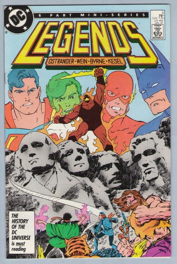 Legends 3 Jan 1987 NM- (9.2)