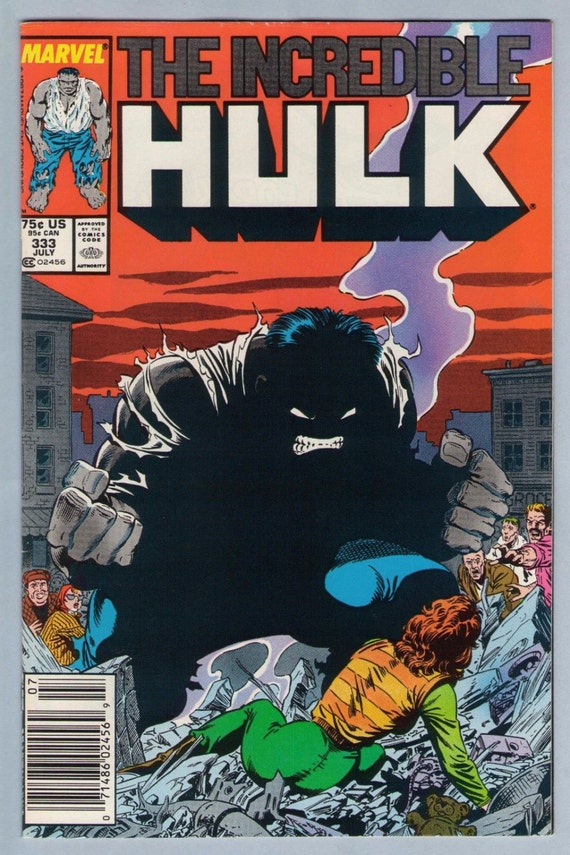 Incredible Hulk 333 Jul 1987 VF-NM (9.0)