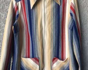Striped Terry Chicago jacket