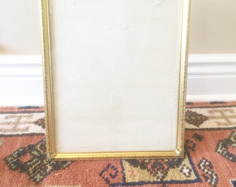 gold frame brass frame picture frame 10x13 picture frame large picture frame wedding frame photo frame