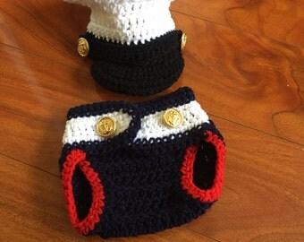 Crochet Baby Marines Costume!