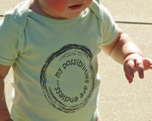 Organic Misprint | my possibilities are endless | Organic Onesie |Organic Baby Outfit | Baby Bodysuit | Baby Boy | Baby Girl | Baby Clothes