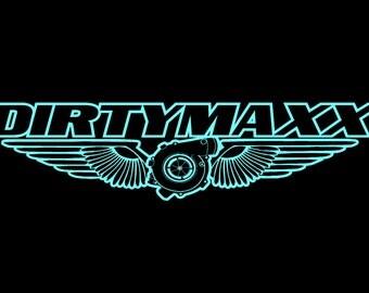 DIRTYMAXX Diesel Vinyl Decal Sticker