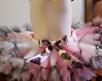 Minnie tutu and Hair bow set