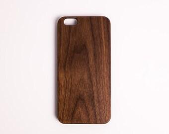 iPhone 7 Case Wood iPhone 7 Plus Wood Case iPhone 6 Case Wood iPhone 6 Plus Wood Case (Walnut Slim)