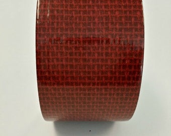 Duct tape roll, red duct tape, decorative tape, duct tape crafts, burlap duct tape, fashion duct tape
