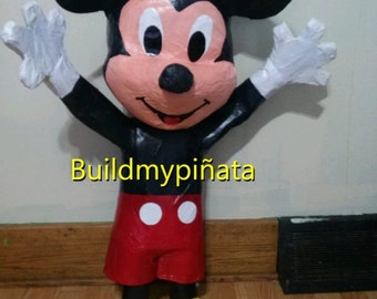 "Mickey mouse pinata, 3D, 32""tall."