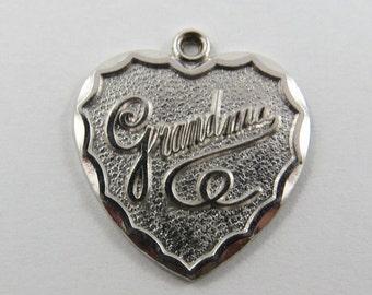Grandma Sterling Silver Charm or Pendant.
