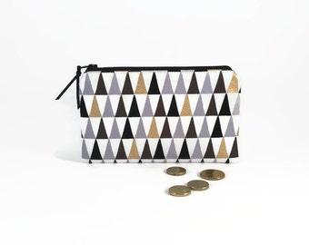 Zipper clutch wallet, Gold, Womens wallet, Coin purse wallet, Bridesmaid gift, Coin zipper purse, Large wallet women, Iphone wallet purse