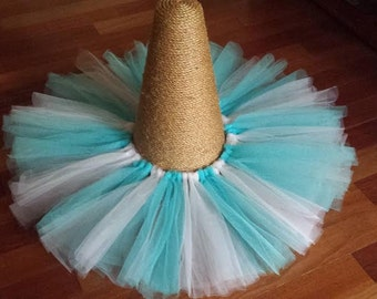 White and Blue Tutu