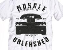 Muscle Car T-shirt, SRT t-shirt, cars shirts, muscle car tees, challenger shirt, dodge shirts SRT shirts, men tshirt, women tshirt, fun tees