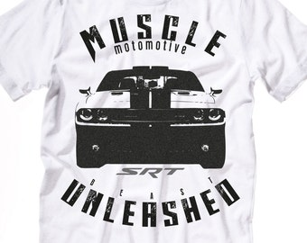 Muscle Car T Shirt Etsy