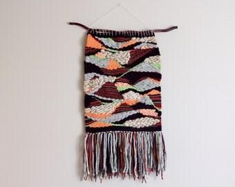 Wall Hanging - Fall Colors Weaving