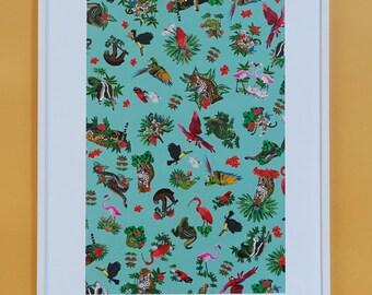 Jungle print / Jungle Print