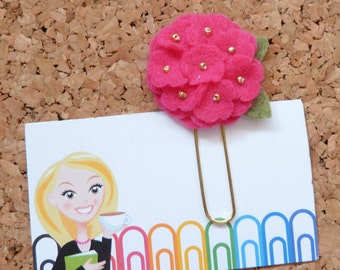 Paper Clip Spring EGG Planner Accessory Bookmark
