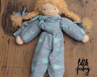 Waldorf Elf Doll - Waldorf doll - Elf -Waldorftoy - Waldorf - girl doll - curly blond hair
