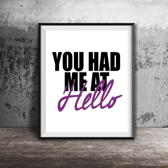 Jerry Maguire Movie Quotes: You Had Me At Hello Jerry Maguire Inspirational Quote