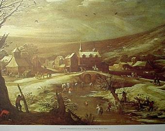 Print, Pais Nevado by Monper, Artwork Reproduction, Landscape