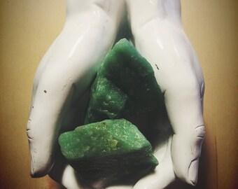 RawAventurine Stones  from Turkey, Rough Green Aventurine, Sparking Pastel Green Aventurine stone