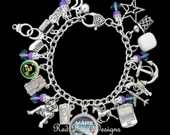 Veronica Mars Themed Charm Bracelet