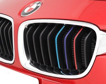 Kidney Etsy - Bmw grille stripe decals