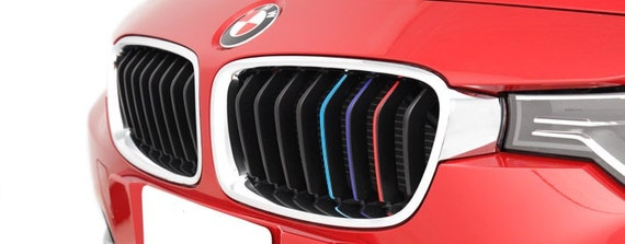 BMW Pack Kidney Grill Grille Stripes M Sport Sticker Decal - Bmw grille stripe decals