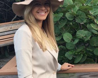 Floppy Hat, Wide Brim Hat, Large Brimmed Hat, Women Floppy Hat, Fall Hat, Autumn Hat, Winter Hat, Gift for Her, Fashion Hat, Elegant Hat
