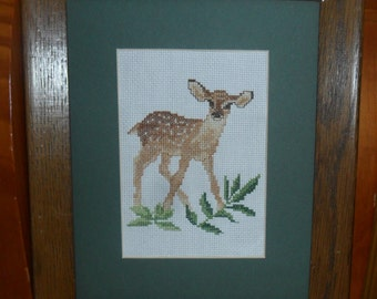 Fawn Cross Stitch