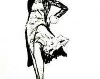 "Unique Art Deco Print Modern Art Deco Adelaide Art Deco ""Adaysha"""