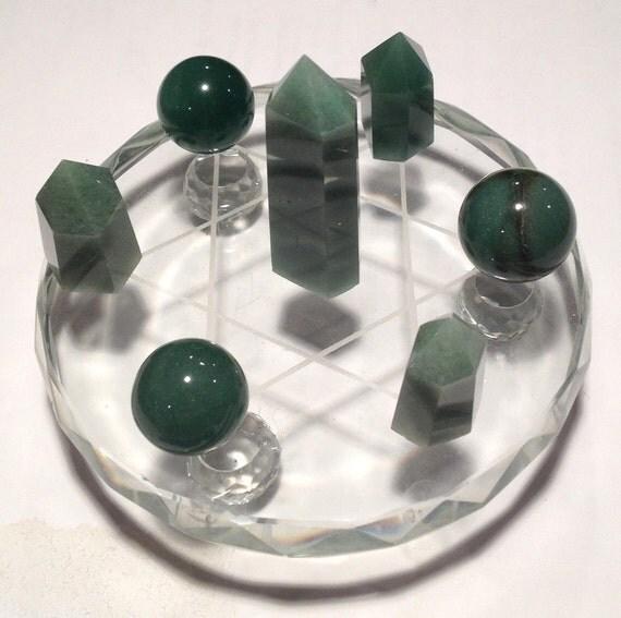 abundance grid gemstone set template by