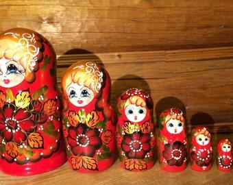 "Russian matryoshka ""Seven"""