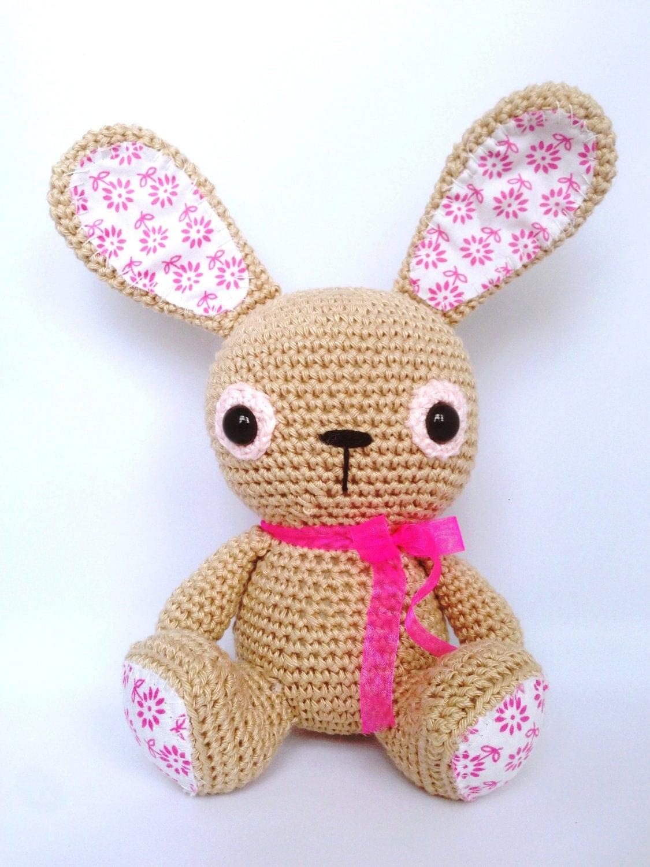Etsy Amigurumi Bunny : Amigurumi Bunny Lilleliis by HandmadebyWijntje on Etsy