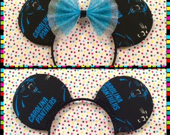 NFL Carolina Panthers Mouse Ears