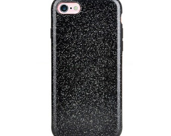 iPhone 7 Plus Case - Glam by Elemental Cases - Black