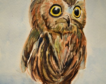 Owl Painting #2