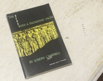 1973 The Hero With A Thousand Faces By Joseph Campbell Mythology History Bollingen Series XVII Pyschology Religion Pagan Occult