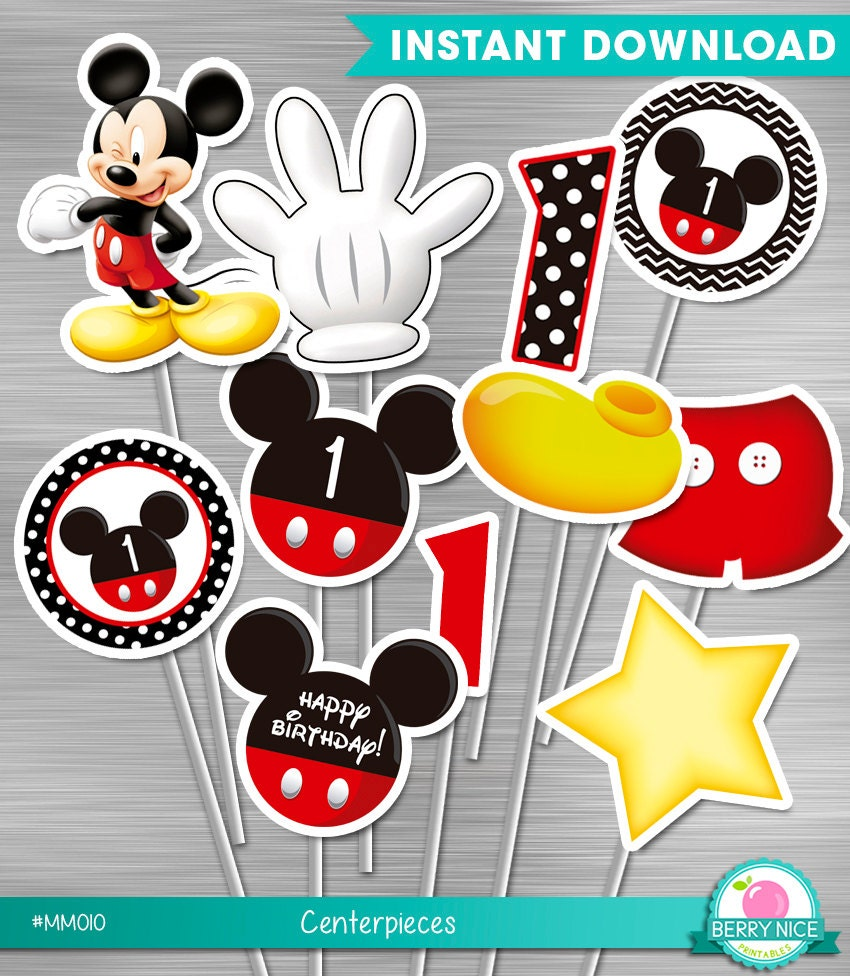 Contemporary Diy Mickey Mouse Party Invitations Adornment ...