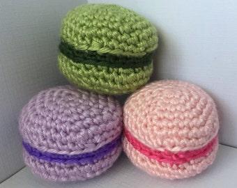 Crochet Pattern - Macaron/Macaroon