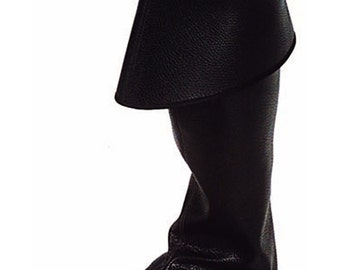 Costume Boot Covers - Black or Brown