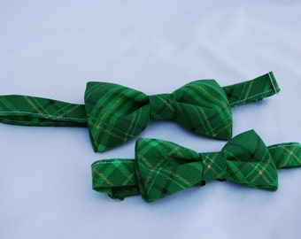 SALE! Holiday Father and son bow tie set