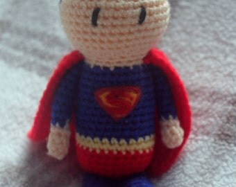 custom mini crochet superhero