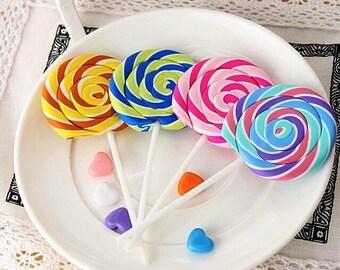 kawaii Lollipop Erasers - Fun & Creative Stationery