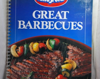 Kingsford Great Barbecues Cookbook - 1989
