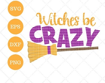 Halloween SVG DXF EPS and png Cutting Machine Files Silhouette Cameo Cricut Fall svg Witches Boo Vinyl Cut File Autumn Vector Ghost svg file