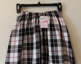 Plaid Skater Skirt Size XS-S