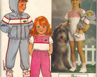 Vintage Cabbage Patch Kids Sewing Pattern with Iron-on Transfers Included.  Unused in original envelope 6X